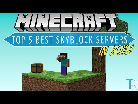 Top 5 Best Skyblock Servers in Minecraft! (Where To Play SkyBlock