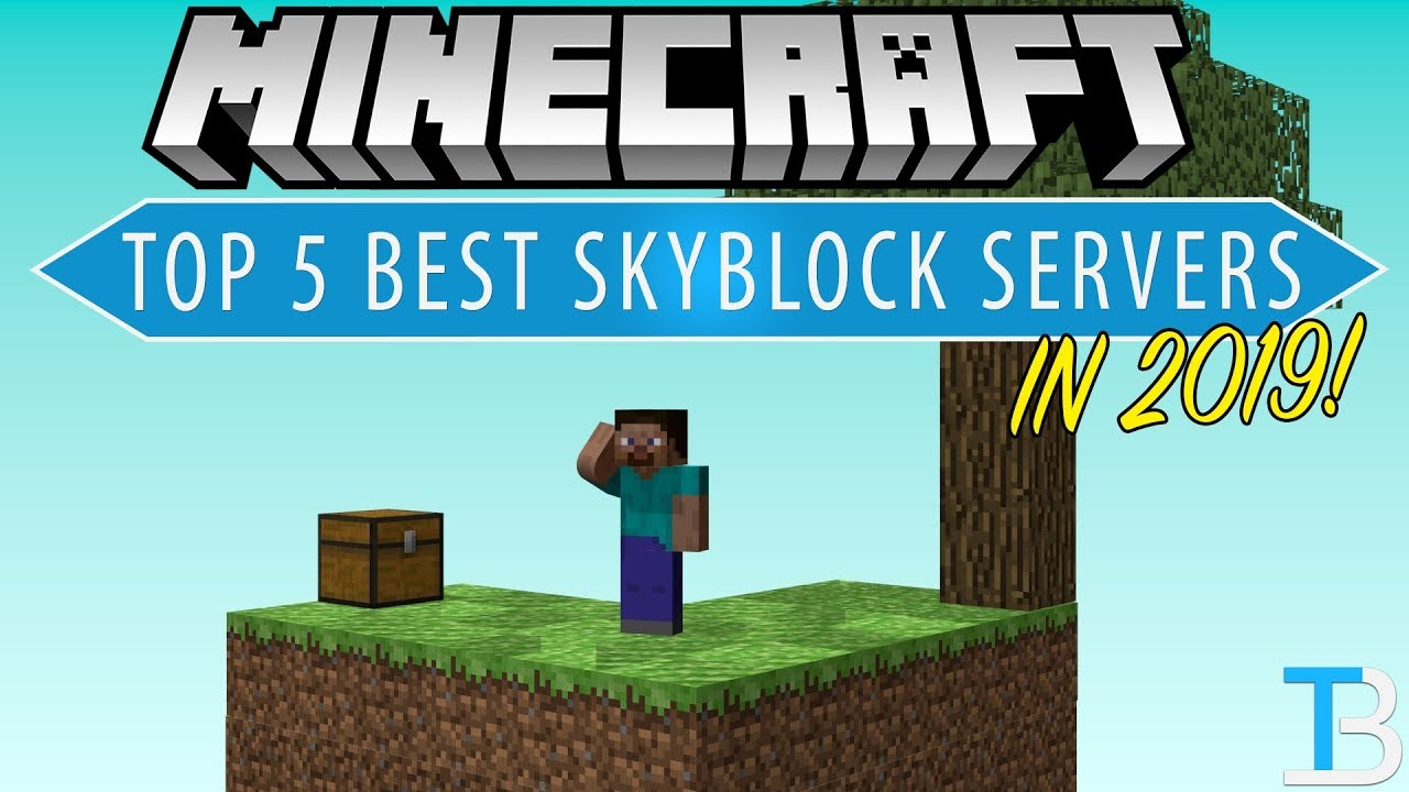 Top 5 Best Skyblock Servers in Minecraft! (Where To Play SkyBlock!)