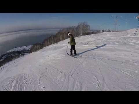 Красная сопка, Камчатка, охотимся на лыжников!