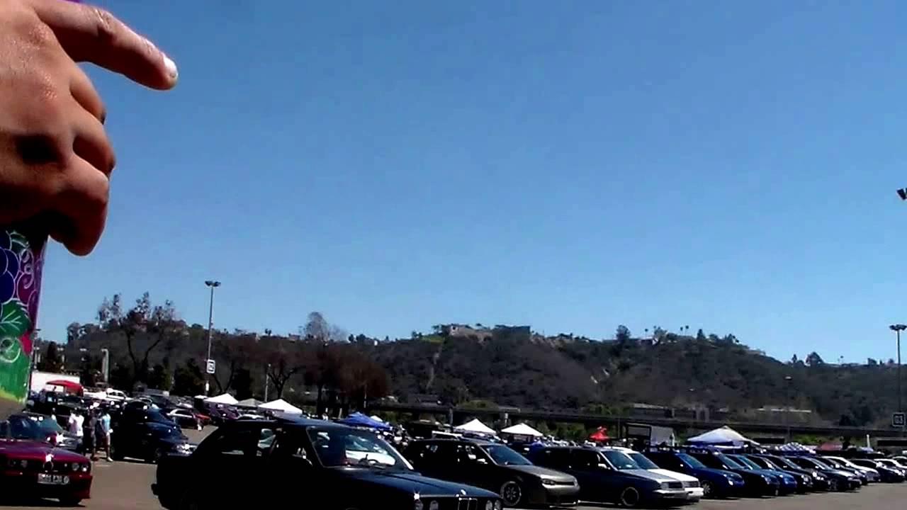San Diego Qualcomm Stadium Car Show Youtube