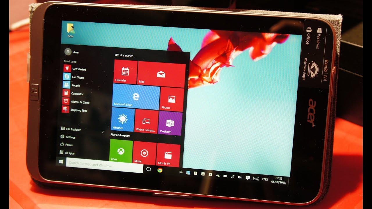 Updating Acer Iconia W4 To Windows 10 Using Windows Update