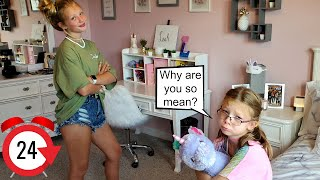 Being Mean To My Sister For 24 Hours Challenge Prank!