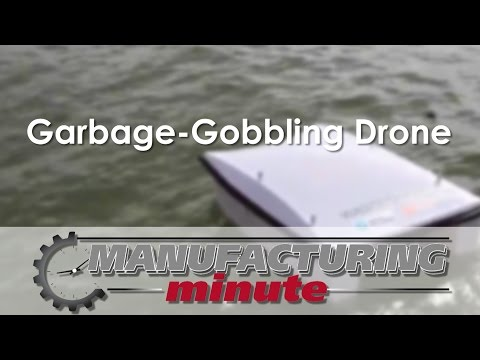 .海面掃地機器人WasteShark:一頓吃掉400磅垃圾 | 新智造