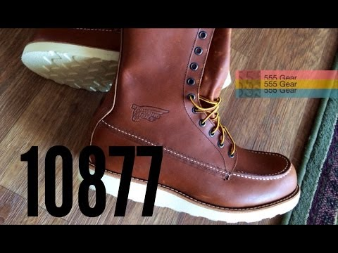 """Review: Red Wing 10877 8"""" Boots """"Oro-iginal 877"""" USA Made Irish Setters"""