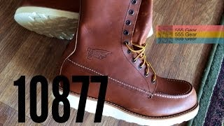 "Review: Red Wing 10877 8"" Boots ""Oro-iginal 877"" USA Made Irish Setters"