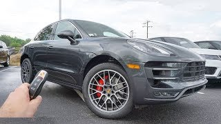 2018 Porsche Macan Turbo: Start Up, Exhaust, Test Drive and Review