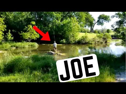 Fly Fishing San Gabriel River (Georgetown TX)- Afternoon With Joe