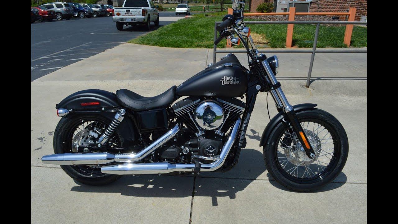 SOLD! 2014 Harley-Davidson® FXDB - Dyna® Street Bob® Black Denim ...