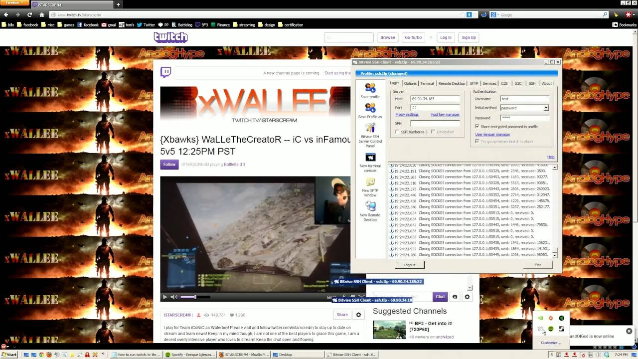 Twitch view bot + Gather Proxy - Releases - CodeDeception