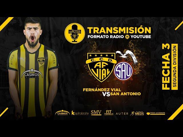 Fernández Vial vs San Antonio Unido   Segunda DIvisión