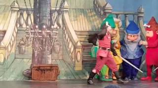Pirates of the Caribbean kids show