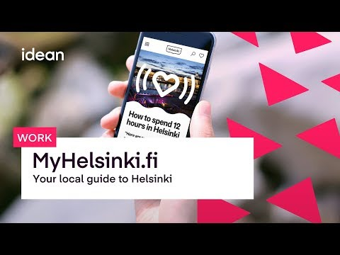 My Helsinki: Helping people find the best of Helsinki