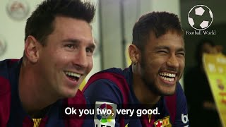 - headphones recommended (hd supported) messi suarez neymar (msn) best funny moments 2016 hd 1080p like and subcscribe if you enjoy :) ● follow me & st...