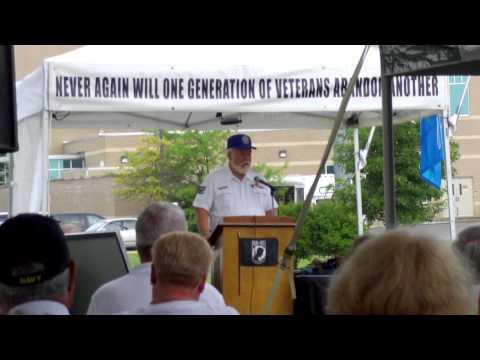 Vietnam Veterans of America National President, John Rowan