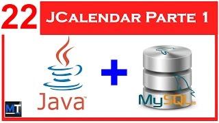 JCalendar en NetBeans Parte 1 [NetBeans con MySQL] [22/26]