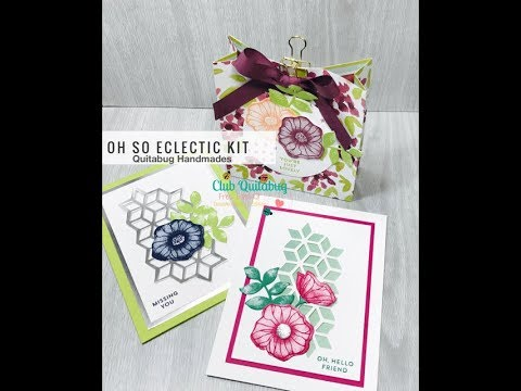 FREE Card Kit| August Club Quitabug 2: Stampin' Up! Oh So Eclectic