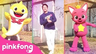 Baby Shark-Dance-Battle | Baby-Hai Challenge | Baby Shark vs Pinkfong