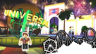 Visiting Universal Studios! Hard Knock Life #23 | Roblox