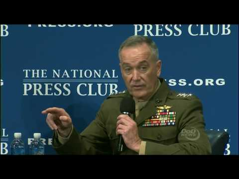Press Club: 6-19-17. Gen. Dunford Speaks On U.S. Fight Against Wahhabism In Middle East.