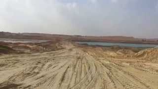 New Suez Canal: scene of the North Channel of the car sector