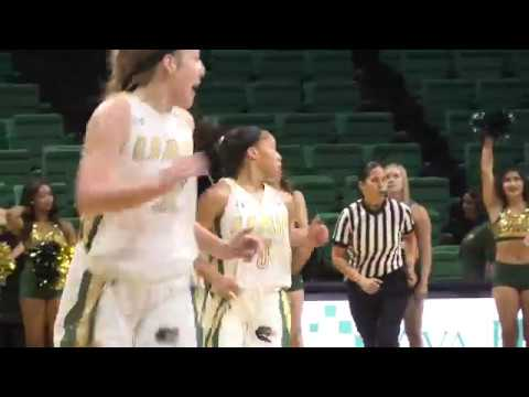 UAB WBB Highlights vs. Miles College
