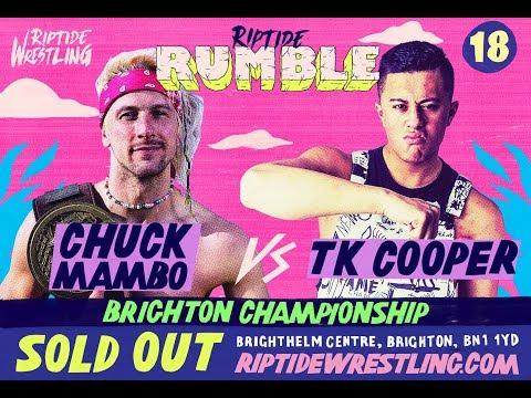 Chuck Mambo Vs TK Cooper - Brighton Championship Match   RIPTIDE