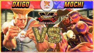 SFV 3.5 ✪ Lord Daigo face off against MOCHI currently the highest D...