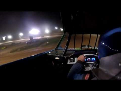 #2X Anthony White - Late Model - Wartburg Speedway  8-13-16 - in car camera