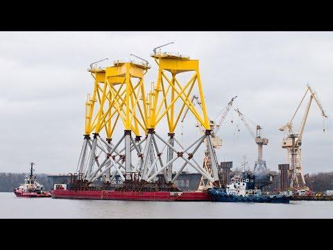 ST³ Offshore 1,905 Tons Suction Bucket Jacket Borkum Riffgrund 2 Wind Farm 2/2