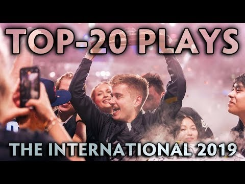 TOP-20 BEST PLAYS of The International 2019