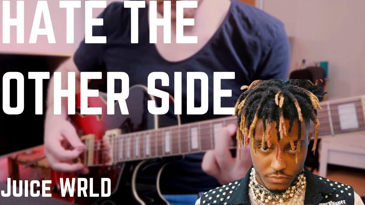 Juice WRLD ft. Marshmello, Polo G & Kid Laroi - Hate The Other Side (Guitar Cover WITH TABS)