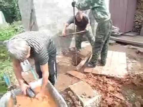 Бурильщика бетон вода и бетон