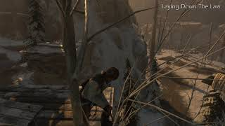 Rise of the Tomb Raider: Laying Down The Law Achievement, at the Soviet Installation, on XBox One X.
