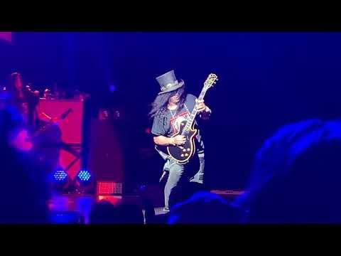 Slash Guitar Solo Vancouver July 18th 2019