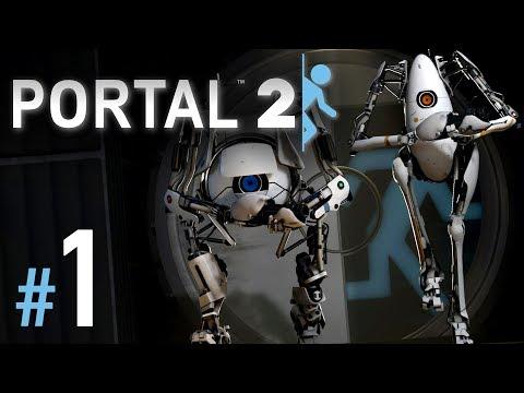 Portal 2 Koop Gameplay German #1 - Let's Play Portal 2 Deutsch Coop