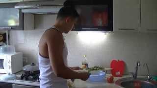 Обед начинающего качка 2 - (Видео-урок)