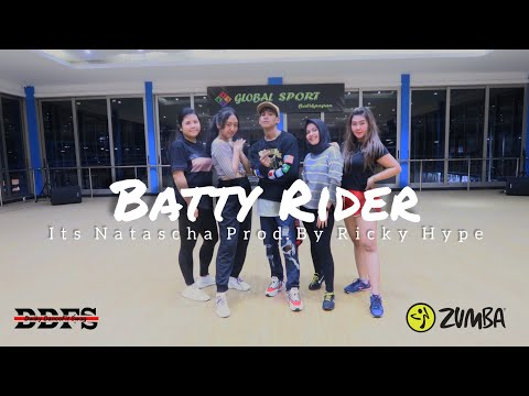 Its Natascha - Batty Rider prod by Ricky Hype  ZUMBA  FITNESS  At Balikpapan