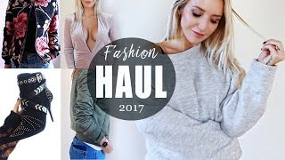 MEGA FASHION HAUL 2017  | TRY ON HAUL