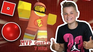 I AM MVP in ROBLOX DODGEBALL | SUMMER EVENT for GETTING THE KITTY-CAT STRAW HAT