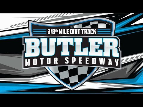 Butler Motor Speedway Modified 6/1 Make-up Feature (ran 6/8/19)