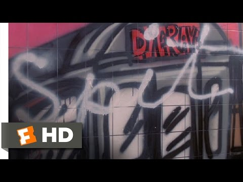 Beat Street (4/9) Movie CLIP - Tagging the Train Station (1984) HD