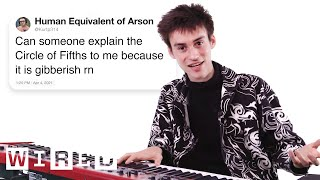 Jacob Collier Answers Music Theory Questions From Twitter   Tech Support   WIRED