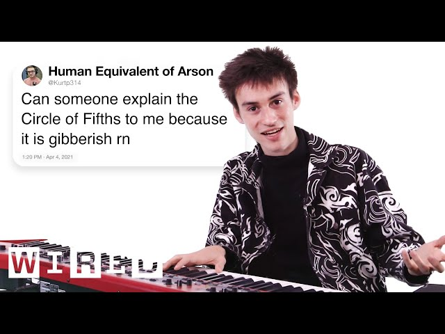 Jacob Collier Answers Music Theory Questions From Twitter | Tech Support | WIRED
