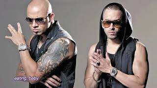 Wisin & Yandel, Romeo Santos - Aullando (Letra/English Lyrics)