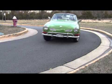 Volkswagen Karmann Ghia Road Test & Review by Drivin' Ivan