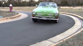 Volkswagen Karmann Ghia Road Test & Review by Drivin' Ivan Katz