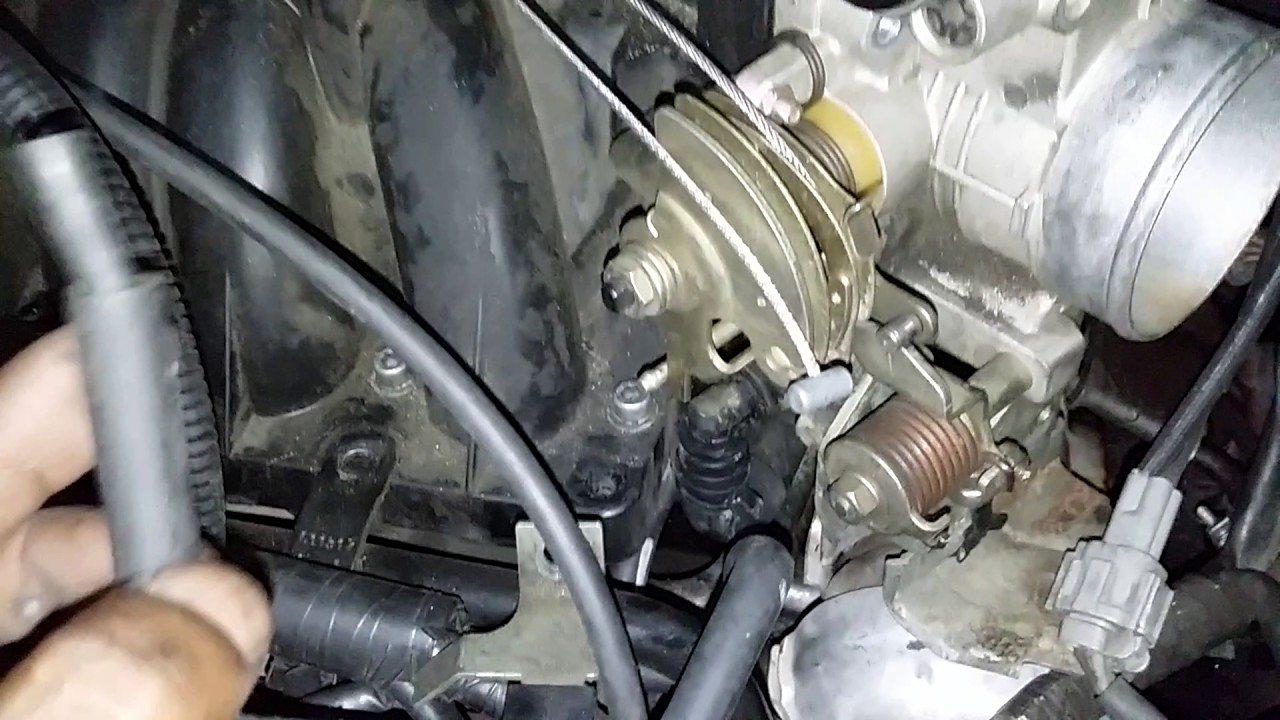 01 nissan quest intake manifold removal