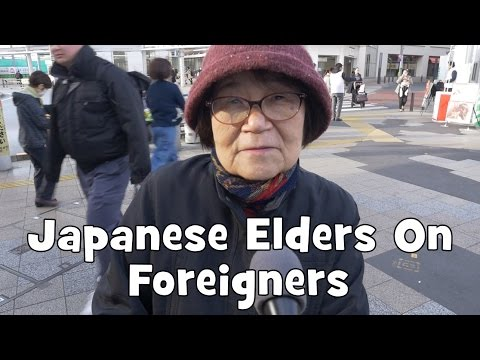 Do Japanese Elders Want Foreigners in Japan? (Interview, Re-upload)