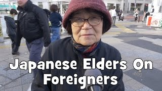 Do Japanese Elders Want Foreigners in Japan Interview Re-upload