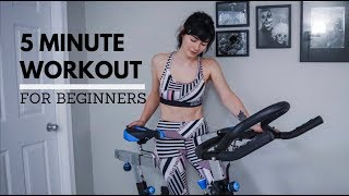 5 MINUTE CYCLE WORKOUT // 2018